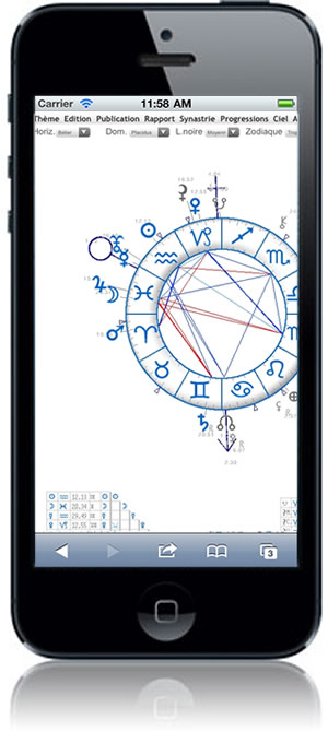 astrologie iPhone iPod iPad